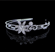 OEM wedding birdcage tiara hair band