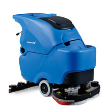 R70BT Dual brushers automatic small battery floor scrubber with 24V battery,70L water tank,productivity 3000sqm