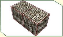 Gabion cages / hexagonal mesh