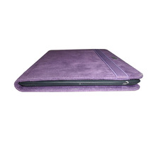 Non Leather Purple Tablet PC Case for iPad 4