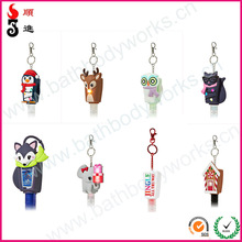 Brand new 2014world wide cup silicone hand sanitizer holder for wedding gifts