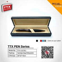 2014 Nice ball pen with gift box, business gift acrylic metal ball pen
