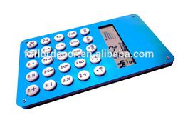 Promotional calendar calculator calendar desktop calculator aluminum 8 digits calculator