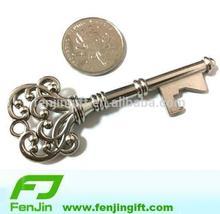 custom metal church key bottle opener