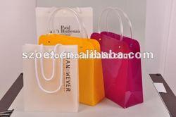 Custom made plastic gift/shopping bag