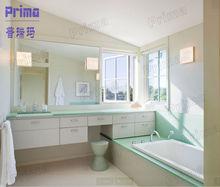 Modular modern high gloss / UV / Acrylic bathroom design bathroom accessory