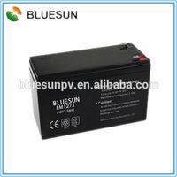 Bluesun high quality long life use cheap offer 12V 180AH gel filled batteries