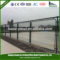 Decorative galvanized basketball fence netting