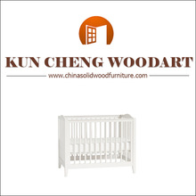 Convertible Pine Wood Baby Crib Toddler Bed Nursery Espresso Solid Wood Modern Baby Cribs