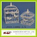 Cage blanche pour oiseaux Cage suspendue pour oiseaux cages décoratives pour oiseaux cages à oiseaux pour mariages