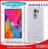 Kingsing S2 5.0inch 960*540pixels IPS Screen 1GB RAM 8GB ROM MTK6582 Quad core 1.3GHz Android 4.4 Dual SIM Smart Phone