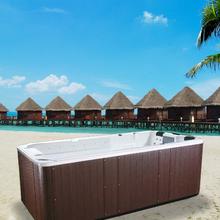 (Factory) luxury outdoor spa swim jet hot swim pool massage function