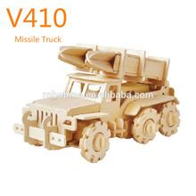 wooden missile truck-V410