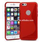 Shenzhen Phone Case Fancy Phone Case for iphone6,Newest Cell Phone S Line Case for iphone 6