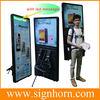 walking billboard/New media street marketing advertising mobile LED walking signs