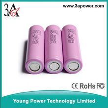 li-ion battery cells 18650 lithium battery samsung ICR18650-26h 2600mah 3.7v