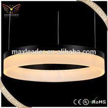 Hot sale modern hanging decoration led ring lamp