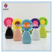 2014 wholesale felt flower toilet fragrance diffuser