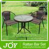 PE Rattan Bar Chairs