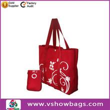 Novelty design buy rabbit shopping bag folding garment bag