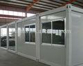 Incrível os planos da casa pré-fabricada recipiente novo design, bom isolamento waterpoof