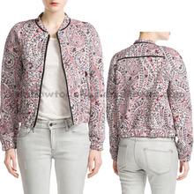 2014 new latest printing design girls short sublimation coat