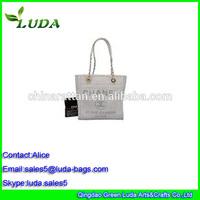 New raw natural raffia straw wholesale cheap shopping tote bag