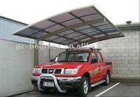 2.9m*5.5m *3m carport aluminium,solar carport,carport roofing material