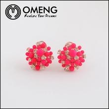 2015 Hot New Fashion Design Bright Color Beads Ear Cuff