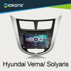 2014 Hot Selling car dvd gps for hyundai verna for distributor wholesaler