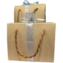 Luxury Christmas Packaging Paper Gift Bag