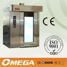 Fare il pane linea di produzione usato il scambiatore di calore ad alte prestazioni elettrica/gas/disel forno rotativo