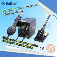 2 In 1 SMD soldering desoldering station 700w hot air rework station