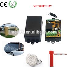 12v Garage Door Receiver,High Quality Remote Controller ,Control Garage Door YET401-X.PC