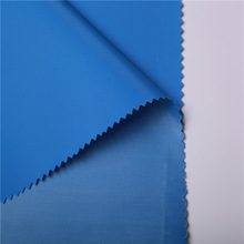 China supplier heat transfer printing blue stripe polyester oxford fabric