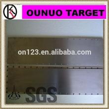 best price platinum coated and plated titanium anode titanium plate for hho generator