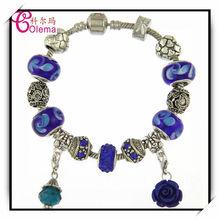 Fashionable Glamour Europe Style Beads Charms Handmade Jewelry Bracelets MGL0250
