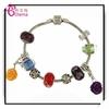 Colorful Crystal Bead Europe Style Beads Bracelet Handmade Jewelry MGL0246
