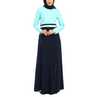 China Supplier fashion wholesale islamic women long dress 2014 new muslim styles of dresses