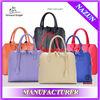 New designer tote bag,fashion lady hand bag,simple PU leather handbag