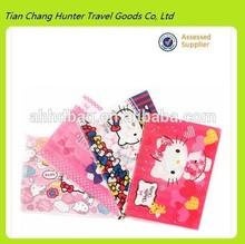 china manufacturing cheap hello kitty clear pvc bag