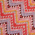 tessuto stampato rayon design in stile etnico