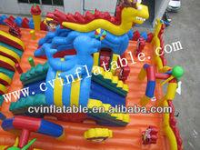 dinosaur inflatable playground; amusing inflatable playground