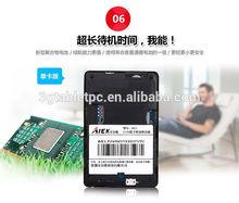 Wholesale 2014 NEW!! 6.5mm Ultra Thin AIEK M3 Card mobile phone pocket phone mini music mobile FM BULETOOH mp3 GPRS phone