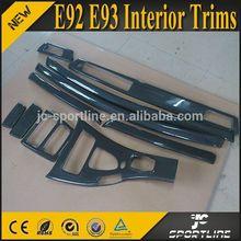 10PCS/SET M3 Style Carbon Fiber E93 interior decoration For BMW E92 E93 09-12