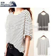 cheap OEM womens t shirts ladies plain t-shirt dresses plain round neck t shirt plain cotton t shirt