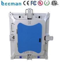 Rental super slim led screen Die casting rental cabinet portable led display football matches usage Leeman P10 Led display
