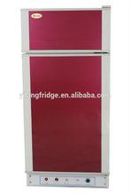 Yilang 75L gás / querosene / eletricidade 3 maneira glp 12 v dc gás frigorífico