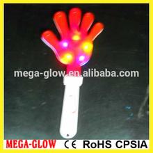 Flashing plastic fan clapper