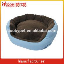 round blue canvas pet product